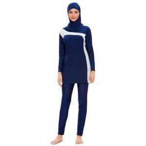 Muslim Swimwear Islamic Swimsuit For Women Hijab Burkinis Full Coverage Swimwear Muslim Swimming Beachwear Swim Suit