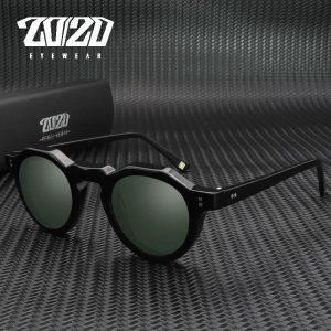 20/20 Acetate Polarized Unisex Sunglasses Design Brand Maker For Men and Women Sun Glasses AT8181 occhiali da sole donna