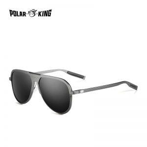 POLARKING Brand Aluminum Frame Mirror Polarized Sunglasses For Men Driving Oculos Sun Glasses For Traveling Fishing Eyewear