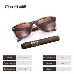 POLARKING Brand Designer Polarized Folding Men Sunglasses For Traveling Oculos de sol Men's Driving Sun Glasses Shades Eyewear
