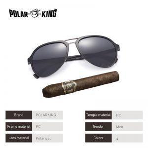 POLARKING Brand Classic Designer Polarized Sunglasses For Men Driving Plastic Sun Glasses Male Fishing Eyewear Oculos de sol