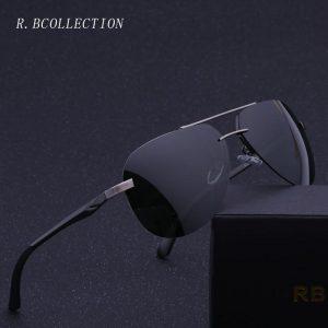R.BCOLLECTION Brand Design Polarized Mirror Unisex Men Women Sunglasses Metal Frame Driving Eyewear Pilot Sun Glasses 143