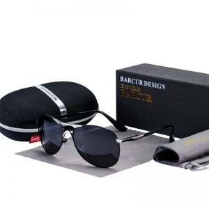 BARCUR Brand Design Sunglasses High Quality Men Polarized Sun Glasses Driving Mens Sun Glasses UV400