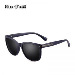POLARKING Brand Fashion Rivet Sun Glasses For Men Fishing Oculos de sol Men's Polarized Sunglasses For Travel Driving Eyewear