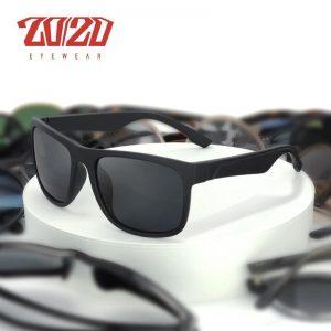 2020 Brand Vintage Flexible Polarized Sunglasses Material Men's Driving Shades Male Sun Glasses Travel Fishing Classic PL484
