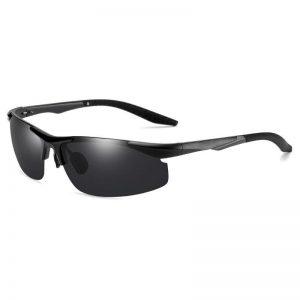 Driving Polaroid Sun Glasses Aluminum Frame Sports Sunglasses Men Polarized Driver Retro UV400 Anti-glare Goggles