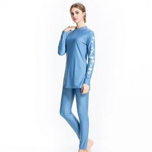 Plus Size Conservative Swim Costume For Muslim Swimsuit Full Cover Swimming Suit Long Burkini Islamic Swimwear Women S-6XL
