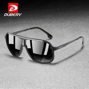 DUBERY Aviation Sunglasses Men Classic Retro Polarized Outdoor Casual  Driving Travel Sun glasses Brand Designer Gafas De Sol