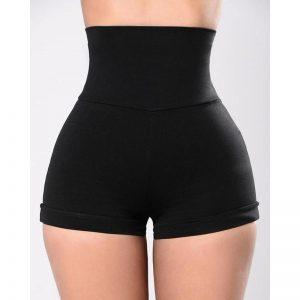 2020 Black Sexy Cross Bandage Casual Skinny Women Punk Shorts Ladies Nightclub Korean Bottoming Streetwear Shorts SJ7118M