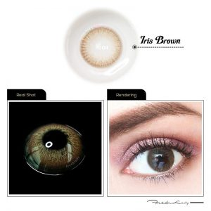LAREEN 2pcs Colored Contact Lenses Rainbow Series Eye Natural Contact Lenses Color Contact Lens for Eye lentes de contacto