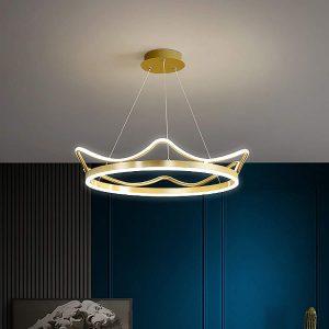 Nortic LED Crown Design Ceiling Chandelier Modern Luxury Lighting For Living Room Bedroom Kids Lamp