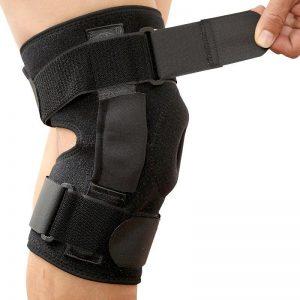Knee Protector Pad for Arthritis Leg Brace Orthopedic Knee Brace Support Patella Kneepad Leg Protector Wrap Personal Health Care