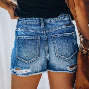 Womens Short Jeans Fashion Sumemr 2020 High Waist Shorts Denim 2020 Female Shorts Jeans
