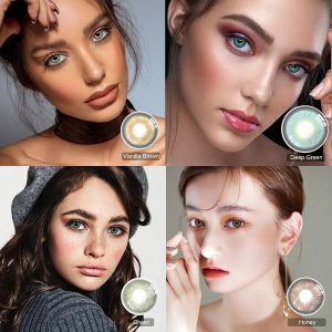 Multicolored Lenses Brown Contact Lenses Colored Contacts beautiful pupil color contact lenses contact lenses for eyes color