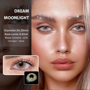 2pcs Dream Series DAHAB Colored Contact Lenses Eye Natural Contact Lenses Color Contact Lens for Eye lentes de contacto UYAAI