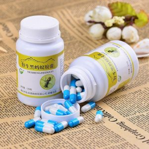 High Quality Black Ant Extract Powder Capsules Tonify Kidney and Strong Sperm Immunity Enhancement Articular Rheumatism