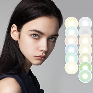 2pcs Yearly 14.2mm Contact Lenses For Eyes Ojos Colored Contacts Circle Lenses For Natural ttdeyes Uyaai