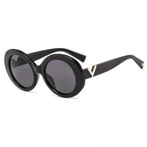 2020 New Vintage Luxury Brand Design Oval Sunglasses Women Men Retro Sun Glasses For Female UV400 Metal Oversized Shades Oculos