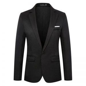 Sky Blue Dress Blazer Men 2020 Fashion One Button Notched Lapel Suit Jacket Men Casual Formal Business Costume Homme Asian M-6XL