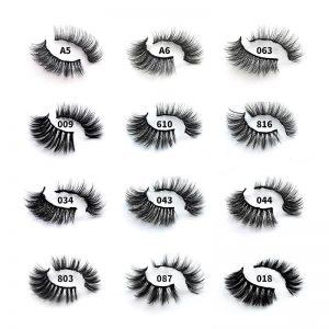 3 Pairs of 3D Magnetic Eyelashes Handmade False Eyelash Eyeliner Waterproof Eye Lash Professional Magnetic Lash Makeup Tools