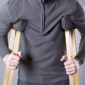 Healifty 4pcs Crutch Pads Universal Underarm and Hand Grip Padding for Arm Crutches Soft Elastic Walking Stick Sponge Pads