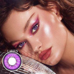 2pcs/pair Colored Contact Lenses Love Words Series Eye Contact Lenses Year Use Color Contact Lens for Eyes lentes de contacto