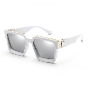 2020 New Fashion Luxury Brand Designer Oversized Square Sunglasses Women Men Shield Big Frame Cool Ins Sun Glasses For Female