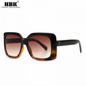 2020 Retro Rivet Sunglasses Women Big Frame Square Sun Glasses Fashion Luxury Brand Designer Vintage Eyeglasses Female Men UV400