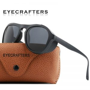 Windproof Gothic Steampunk Sunglasses Polarized Men Women Brand Designer Vintage Pilot Driving Sun Glasses