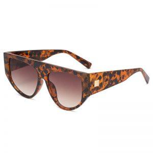 2020 New Fashion Brand Designer Sunglasses Women Eyebrow style Oversized Frame Vintage Sun Glasses oculos de sol UV400 (3)