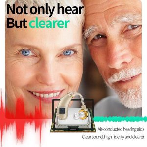 Audifonos Hearing Aid for Elderly Deaf Air Conduction Wireless Headphones Hearing Loss Sound Amplifier Hearing Aids Dropshipping