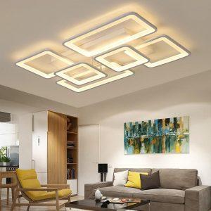 LED Chandelier Modern Ceiling chandeliers Lighting Lustre For Living Room Bedroom kitchen With Remote Control Light Fixtures