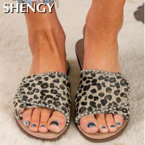 2020 Women Shoes Summer Beach Flats Women Sandals Slippers Outdoor Open Toe Vintage Plus Size Sandalias Shoes For Woman Slides