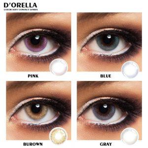 D'ORELLA- 2pcs/pair Constellation Series Color Contact Lens Color Contact Lenses Eye Color Cosmetic