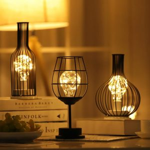 Iron Art Retro Classic LED table lamp Reading Lamp Night Light Bedroom bedside lamp Desk Lighting Living Room Home Decoration