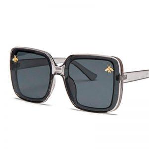 2020 Square  Little Bee Fashion Big Box  Retro Brand Designer Luxury Sunglasses Vintage Shades Oculos Uv400