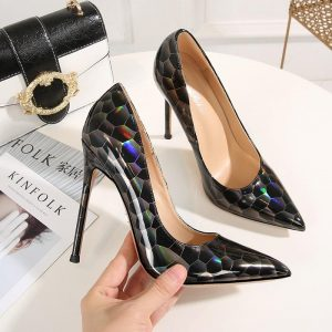 2020 New Women Pumps Nightclub Party Wedding Shoes Super High Heel Pointed Toe Chaussure Femme Ladies Shoes Lady Women  Shoes