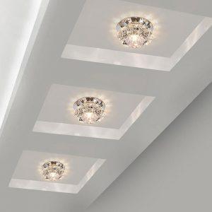 Aisle Flush LED ceiling lamp living room crystal corridor aisle lights LED Ceiling Lights Luces Front techo Balcony lamp Porch l