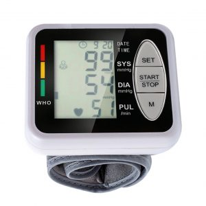Household Health Care Sphygmomanometer Digital Blood Presure Meter Monitor Heart Rate Pulse Portable Smart Blood Pressure Meter