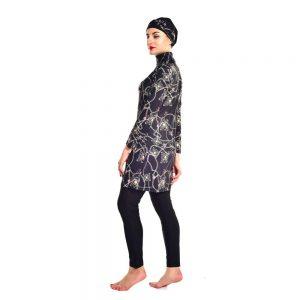 YONGSEN Plus Size Women Islam Swimsuit Bikini Beachwear Modest Swimwear Hijab Muslim Swimwear Burkinis