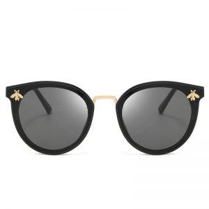 2020 New Fashion Sexy Ladies Cat Eye Sunglasses Women Vintage Brand Design Small Bee Frame Sun Glasses For Female UV400