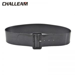 Fashion Women's Wide Belt Women's Wild Pin Buckle Faux Leather Lightweight Small Waist Seal x220