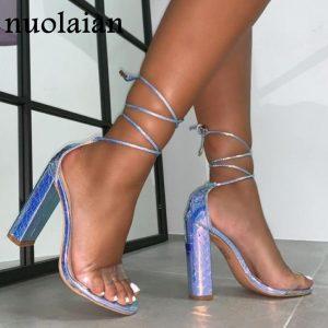 2020 Summer High Heels Sandals Women Pump Shoes Ladies High Heel Shoe Party Wedding Pumps Platform Chaussure Woman Shoes 10.5CM