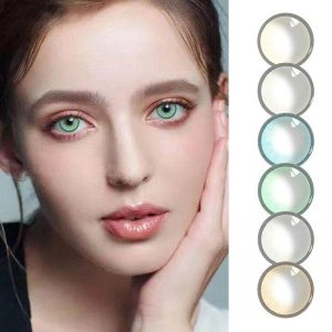 2pcs/pair Aurora series Color Yearly Color Cosmetic Contact Lens Soft Contact Lens Enlarge Pupil Contact Lenses Eye Color 4 Styl