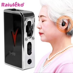 Hearing Aid Ear for Deafness Sound Amplifier Adjustable Hearing Aids Portable Super Ear Hearing Amplifier for the Elderly HOT