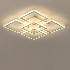 LED Chandelier Modern Ceiling chandeliers Lighting For Living Room Bedroom kitchen Lustre With Remote Control Light Fixtures