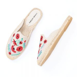 2019 Rushed New Arrival Hemp Summer Flip Flops Pantufas De Pelucia De Bichos Tienda Soludos Espadrilles Slippers For Flat Shoes