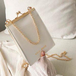 Women's Bag Fashion Solid Color Shoulder Chain Diagonal Casual Handbag carteras mujer de hombro y bolsos torebka damska shopper