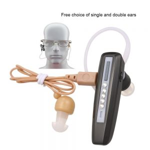 Invisible Mini Hearing Aid Rechargeable Hearing Aid for Elderly Binaural Sound Amplifier Hearing Aids Digital Deaf Ear Care Tool