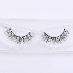3D Mink Eyelashes Upper Real Mink Lashes Soft Natural False Eyelashes 1 pair Handmade Fake Eye Lashes Extension